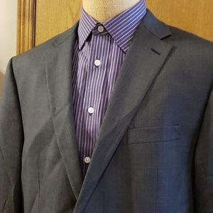 Lauren ralph lauren wool suit jacket blazer grey